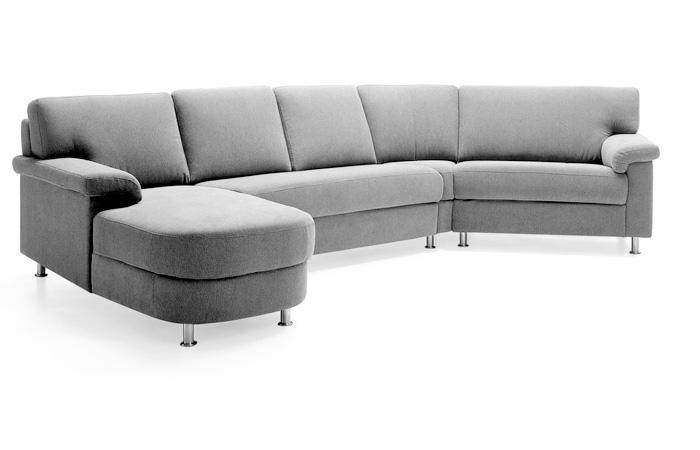 Ecksofa 45 grad sofa couches wohnlandschaften for Sofa ohne kissen